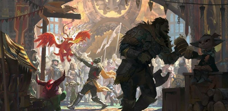 Cinq restent raides [PW Mowglia, Mas'ru, Svetlana, Zadkiel] 800px-Chargement_Hoelbrak_Foire_du_Dragon